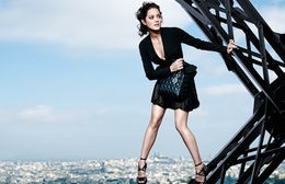 Marion Cotillard for Lady Dior | Source: Luxuo