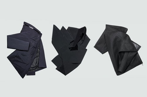Pieces from the Fall 2011 collection | Source: Arc'teryx Veilance