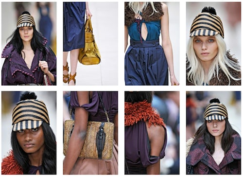 Burberry SS 2012 Details Screenshot | Source: American Vogue.com