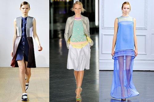 L-R J.W. Anderson, Jonathan Saunders, Richard Nicoll | Source: Style.com