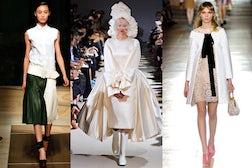 L-R Céline, Comme des Garçons, Miu Miu S/S 2012 | Source: Style.com Source Style.com