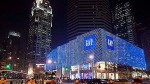 Gap store in China | Source: Juncture Mag