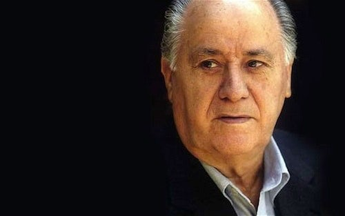 Amancio Ortega | Source: Telegraph