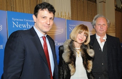 David Remnick, Graydon Carter and Anna Wintour | Source: Ad Age