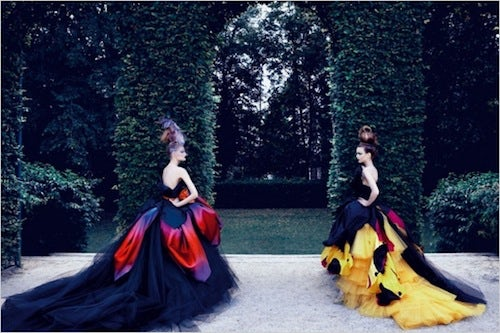 Dior Couture by Patrick Demarchelier | Source: Mama's Rolling Stone