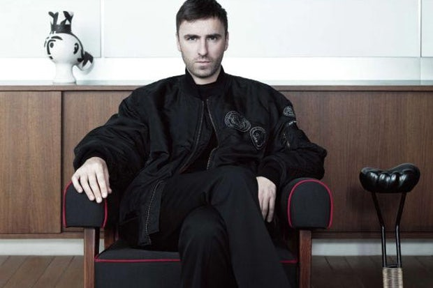Raf Simons photographed by Willy Vanderperre | Source: Fantastic Man