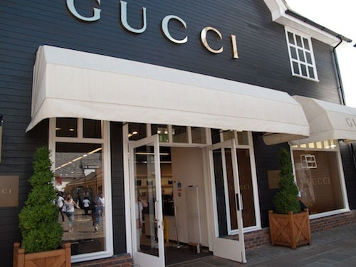 Gucci store Bicester Village | Source: Thread