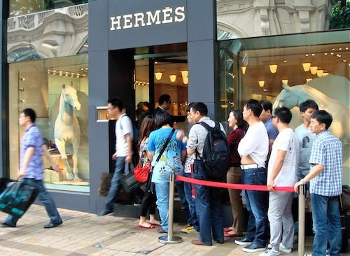 Hermès Canton Road | Source: B on brand