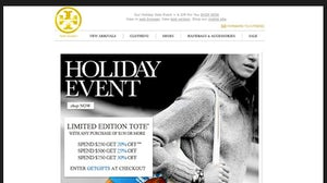 Tory Burch's tiered sales offer | Source: WWD