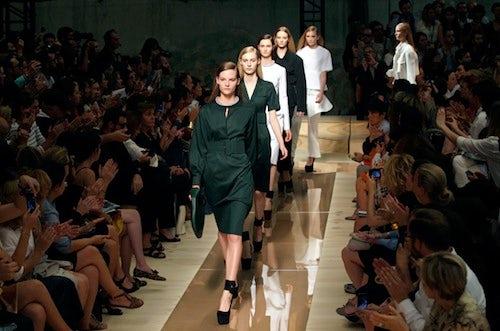 Céline Spring/Summer 2012 Ready-to-Wear | Source: Grazia