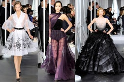 Christian Dior Couture Spring 2012 | Source: Style.com