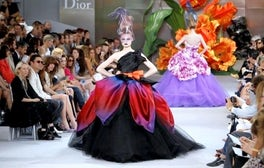 Christian Dior Haute Couture Fall 2010 | Source: Tendances
