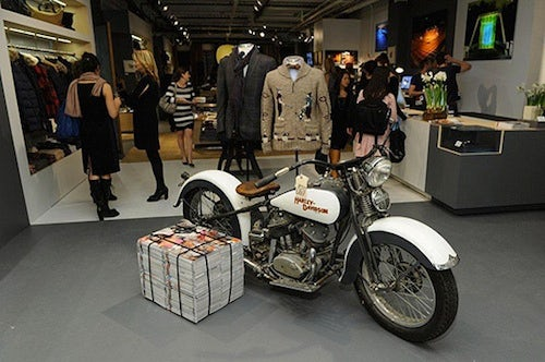 GQ and Park & Bond pop-up shop, NYC | Source: Selectism