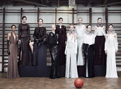 Givenchy Couture Spring 2012 | Source: Style Heroine