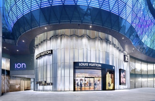 Louis Vuitton Singapore | Source: Luxuo