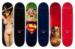 George Condo x Supreme Skate Decks  Source: Hypebeast.com