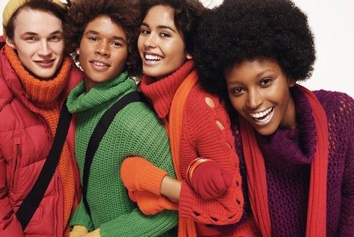 Benetton Autumn/Winter 2012 | Source: Fashion Latest