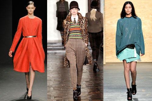 Calvin Klein, Ralph Lauren, Proenza Schouler A/W 2012   Source: Style.com