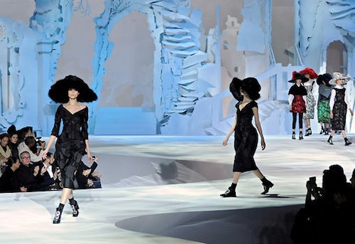 Marc Jacobs Autumn/Winter 2012 | Source: NY Times