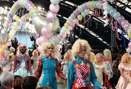 Meadham Kirchhoff Spring/Summer 2012 | Source: Fashion156