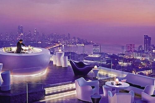 Aer, 34th Floor Lounge at the Four Seasons, Mumbai | Source: Four Seasons