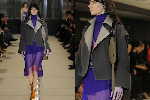 Balenciaga Autumn/Winter 2012 | Source: Showmoda