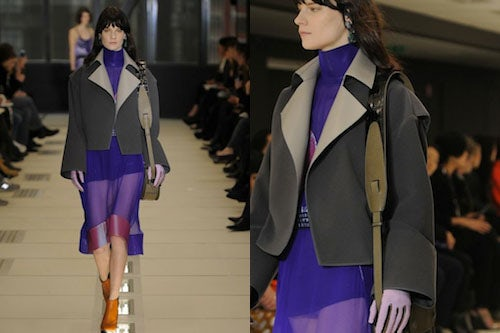 Balenciaga Autumn/Winter 2012 | Source: Showmoda