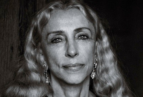 Franca Sozzani by Peter Lindbergh | Source: Interview