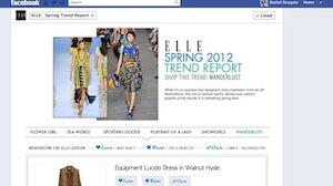 Elle's Facebook page | Source: WWD