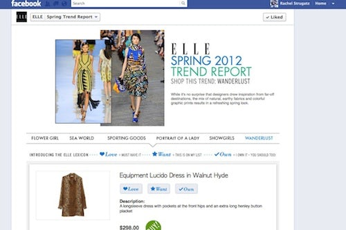 Elle's Facebook page | Source: WWD
