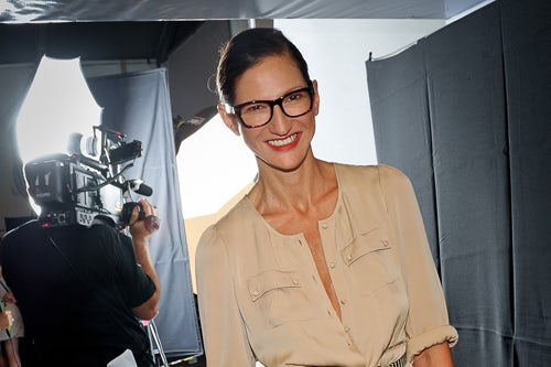 Jenna Lyons at New York Fashion Week | Source: J Crew