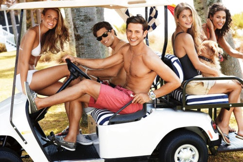 Sperry Top-Sider Spring/Summer 2012 | Source: Bellazoon