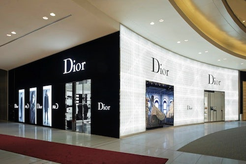 Dior store Dubai UAE | Source: CPP Luxury