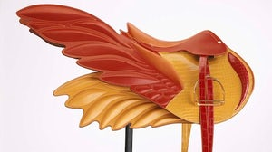 Hermès winged saddle bag | Source: Glam