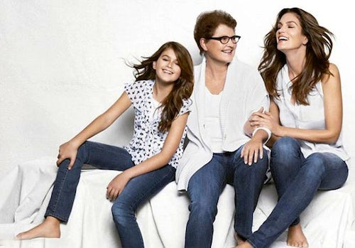 JCPenney campaign with Cindy Crawford | Source: Adrants