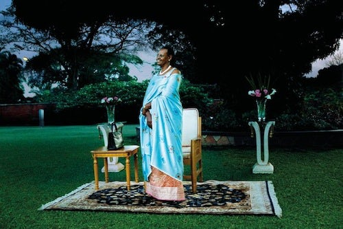 Janet Kataah Museveni for L'Uomo Vogue | Source: NY Times