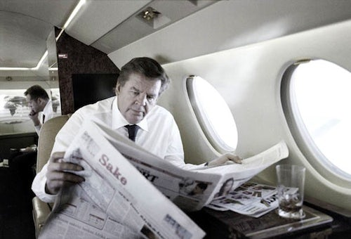 Richemont CEO Johann Rupert | Source: Connecting Watches