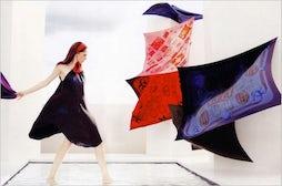 Le Carré Hermès Spring/Summer 2012 Campaign | Source: Hermès