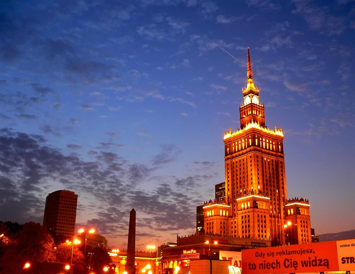 Warsaw skyline | Source: Travelpod