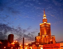 Warsaw skyline | Source: Travelpod