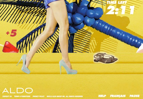 Aldo Shoe Paradise | Source: Aldo