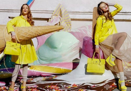 Mulberry Spring/Summer 2012 | Source: A White Carousel