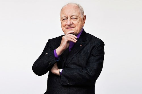 Pierre Bergé by Alex de Brabant | Source: The Talks