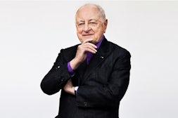 Pierre Bergé by Alex de Brabant   Source: The Talks
