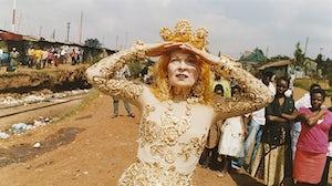 Vivienne Westwood in Kenya | Photo: Juergen Teller
