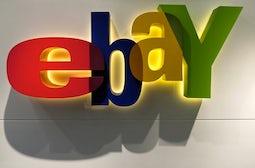 Ebay logo | Source: Bloomberg