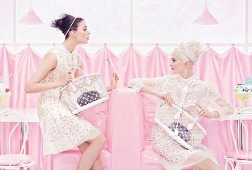 Louis Vuitton Spring/Summer 2012 | Source: Grazia