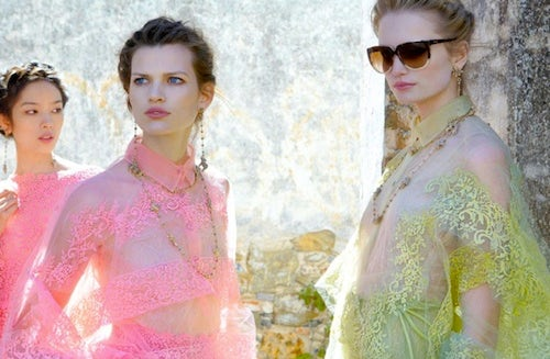 Valentino Spring/Summer 2012 | Source: Who What Wear