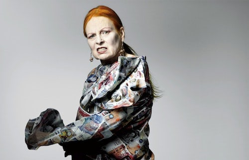 Vivienne Westwood by Craig McDean | Source: Interview