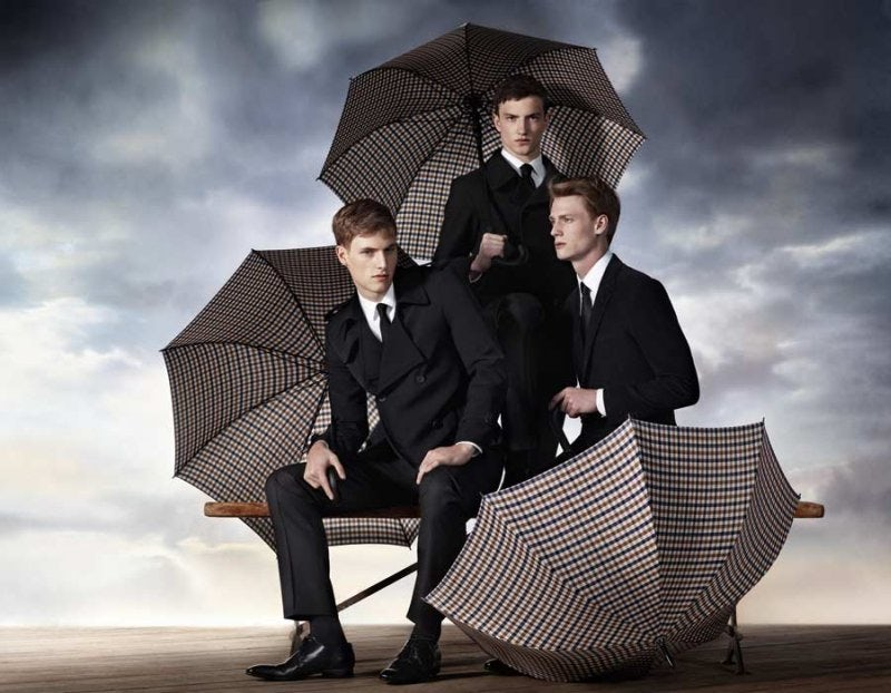 Aquascutum Fall 2010 Campaign | Photo: Willy Vanderperre